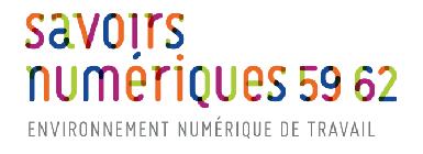 ENT Savoir Numérique